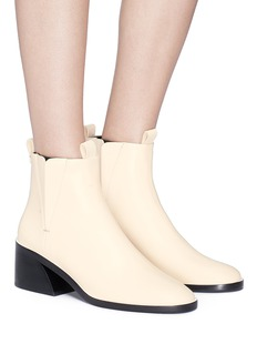 Mercedes Castillo 'Xandra' sculpted heel leather Chelsea boots