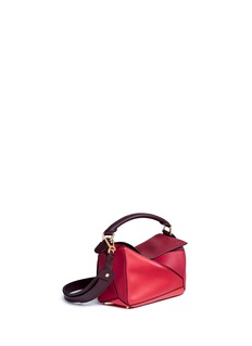 Loewe 'Puzzle' small colourblock calfskin leather bag