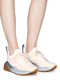 Stella McCartney 'Eclypse' faux leather and suede sneakers