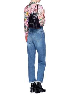 Stella McCartney 'Falabella GO' star patch mini backpack