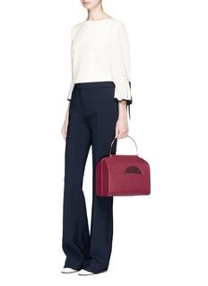 Roksanda 'No.1' ring handle leather shoulder bag