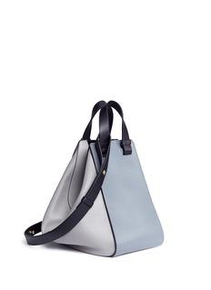 Loewe 'Hammock' colourblock calfskin leather bag