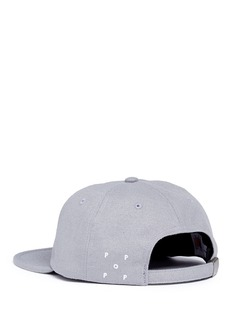 Pop Trading Company Logo embroidered baseball cap