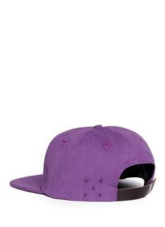 Pop Trading Company 'O' appliqué baseball cap
