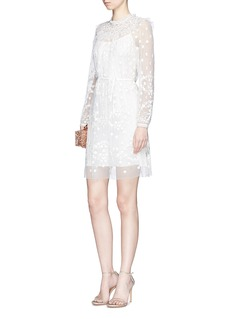 Needle & Thread 'Shadow' beaded floral embroidered dress