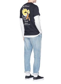 Nine One Seven 'Abe Froman' print T-shirt