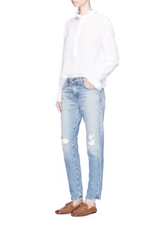 Current/Elliott 'The Fling' distressed relaxed fit jeans