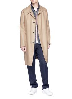 Sunnei Marled twill jacket
