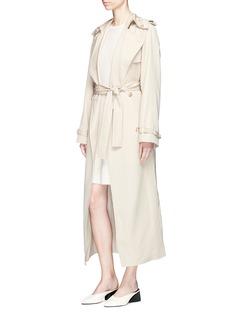 Gabriela Hearst 'Emma' cashmere-silk rib knit dress