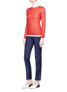 Gabriela Hearst 'Wells' reversible layered cashmere-silk sweater