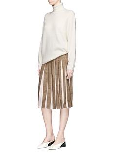 Gabriela Hearst 'Gurley' cashmere-silk rib knit turtleneck sweater