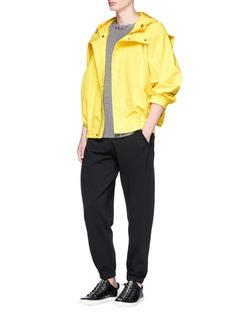 Feng Chen Wang Dart sleeve hooded jacket