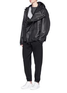 Feng Chen Wang Elastic pocket sweatpants
