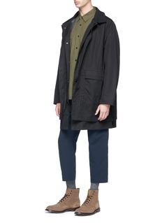 Nanamica Detachable POLARTEC® Alpha® liner cotton splash coat