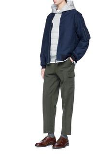 Nanamica KODENSHI® down puffer hoodie