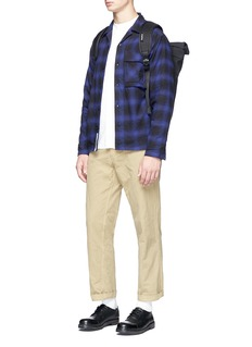 Nanamica Check plaid flannel shirt jacket