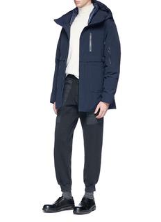 Nanamica Hooded KODENSHI® down coat