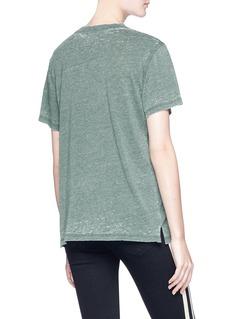 OPENING CEREMONY 品牌标志混棉T恤