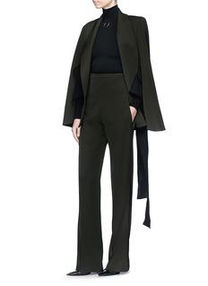 Maticevski 'Exalt' high waist gabardine suiting pants