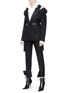 Monse Twill tuxedo blazer