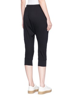 bassike Cropped organic cotton sweatpants