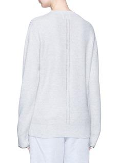 bassike 'Tuck stitch' sweater