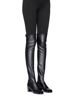 Giuseppe Zanotti Design 'Quad' leather sock boots
