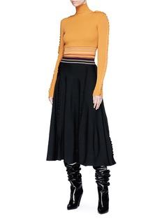 Roksanda 'Diona' ruffle sleeve sweater