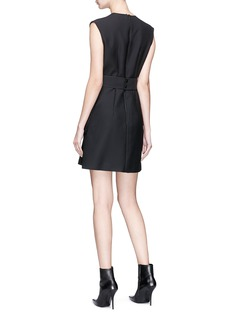 Dion Lee 'Loop' belted cargo suiting dress