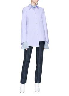 Acne Studios 'Teddy Rustic' stripe wool blend twill pants