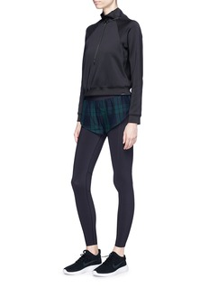 Particle Fever x The Woolmark Company mesh shorts overlay performance leggings