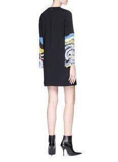 Emilio Pucci Fringe cuff suiting dress
