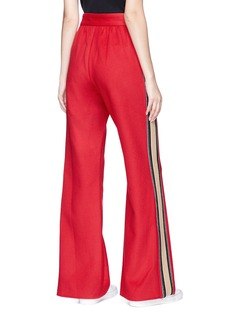 Marc Jacobs Stripe outseam cashmere track pants