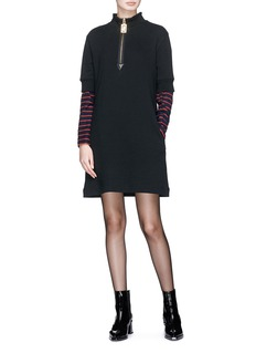 Marc Jacobs French terry shift dress