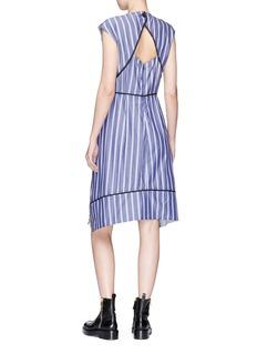Proenza Schouler Cutout back stripe dress