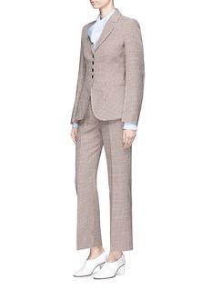Stella McCartney 'Gael' houndstooth wool suiting jacket
