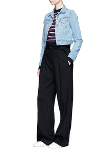 Etre Cecile  Stripe Merino wool boyfriend sweater