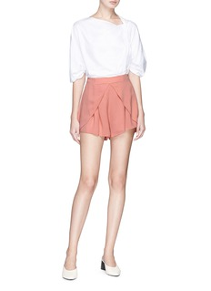 C/Meo Collective  'Got Me Faded' high waist shorts
