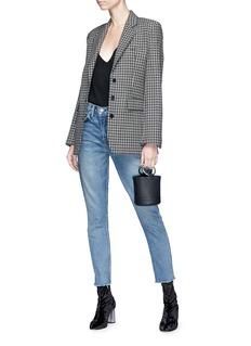 GRLFRND 'Karolina' high rise cropped skinny jeans