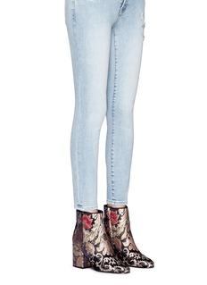 Sam Edelman 'Taye' floral jacquard ankle boots