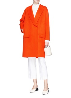 KUHO Wool-cashmere melton coat
