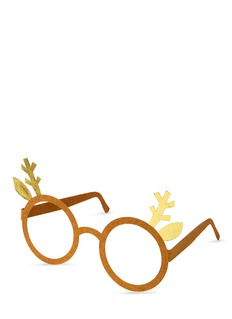 Meri Meri Reindeer glasses greeting card