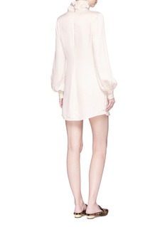 LPA Balloon sleeve turtleneck mini dress