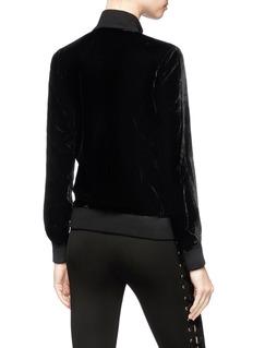 LPA Velvet bomber jacket