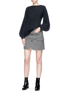 Helmut Lang Balloon sleeve wool-cashmere sweater