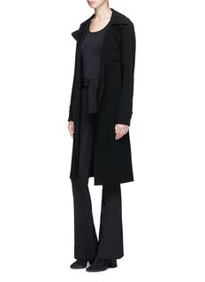 Helmut Lang Cutout sleeve seamless T-shirt