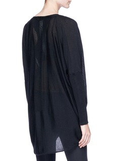 Calvin Klein Performance 'Multiway' Merino wool cardigan