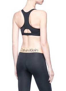 Calvin Klein Performance Reversible racerback sports bra