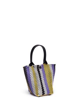 Detail View - Click To Enlarge - Truss - Mini stripe woven PVC bag