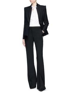 Alexander McQueen Layered lapel underlay suiting jacket